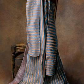 Robe ottomane bleu et jaune - Kira Weber
