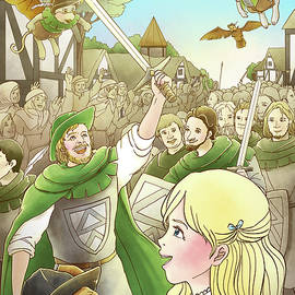 Reynold Jay - Robin Hood Marches into London