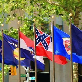 Allen Beatty - Rockefeller Center Flags