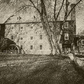 Brian Wallace - Rockland Grist Mill - Charcoal Sepia