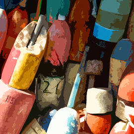 Jean Hall - Rockport Buoys