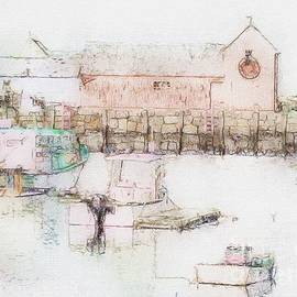 Marcia Lee Jones - Rockport  Fishing Village