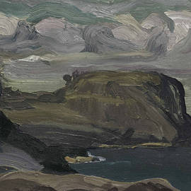 Rocks and Coast - George Bellows