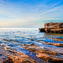 Debra and Dave Vanderlaan - Rocky Beach Panorama