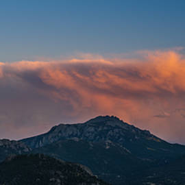 Rocky Mountain Sunset - Steve Gadomski