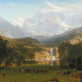 Rocky Mountains - Albert Bierstadt