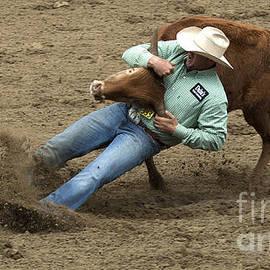 Bob Christopher - Rodeo Steer Wrestling 8