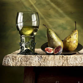 Jon Wild - Roemer with Figs and Pears