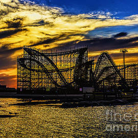 Nick Zelinsky - Roller Coaster Sunset