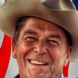 Mim White - Ronald Reagan Tear Down This Wall