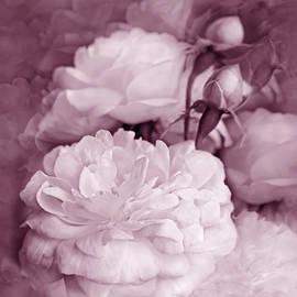 Jennie Marie Schell - Rose Bouquet Flowers Plum