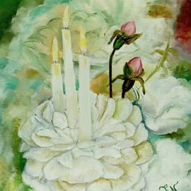 Miriam Leah - Rose Candles