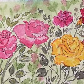 Pushpa Sharma - Rose garden