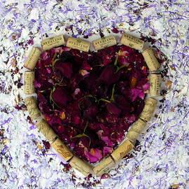 Marlene Rose Besso - Rose Heart Cork Collage