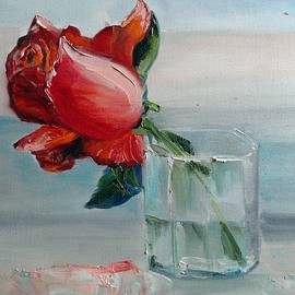 Olga Vlasova - Rose in a glass