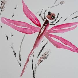 Beverley Harper Tinsley - Rose Toned Dragonfly