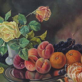 Farideh Haghshenas - Roses and Fruits