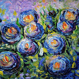 OLenaArt Lena Owens - Roses are Blue
