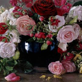 Roses et chevrefeuille - Kira Weber