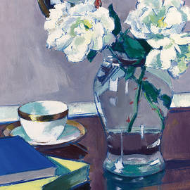 Roses - Francis Campbell Boileau Cadell