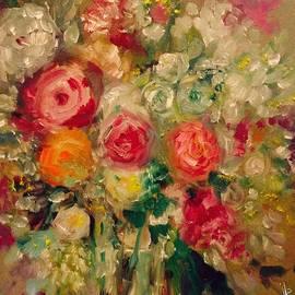 Jennifer Buerkle - Roses in Water