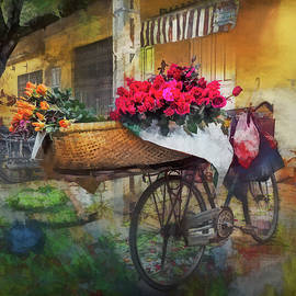Claude LeTien - Roses on a Bicycle