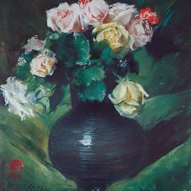William Merritt Chase - Roses