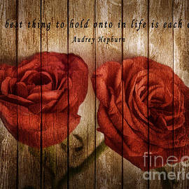 Charuhas Images - Roses with Quote