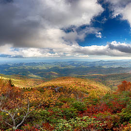 John Haldane - Rough Ridge Panorama