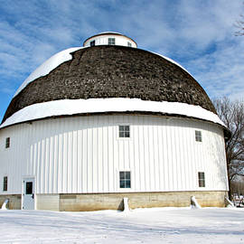 Kathy Krause - Round White Barn