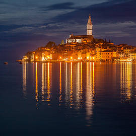 Davorin Mance - Rovinj by night