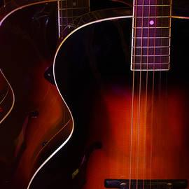 Jim Mathis - Row of guitars