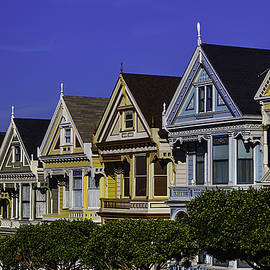Garry Gay - Row Of Painted Ladies