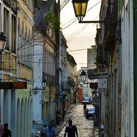 Carlos Alkmin - Alley at Dusk - Bahia, Brazil