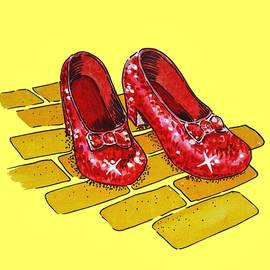 Irina Sztukowski - Ruby Slippers Wizard Of Oz