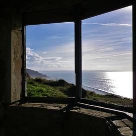 Richard Brookes - Ruined Coastguard Lookout Sharpnose Point Cornwall
