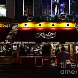 Michael Braham - Rules - Oldest restaurant in London