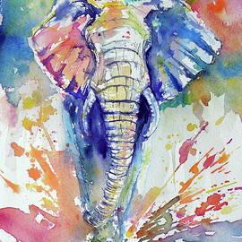 Running elephant - Kovacs Anna Brigitta