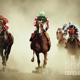 Dimitar Hristov - Running horses in dust