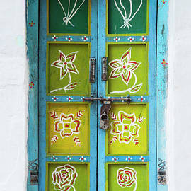 Rural Indian House Doors - Tim Gainey