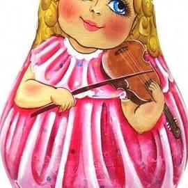 Viktoriya Sirris - Russian Roly Poly Doll Music doll