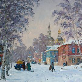 Alexander Alexandrovsky - Russian winter. Great Ustug