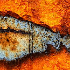 Lilia D - Rust abstract 4