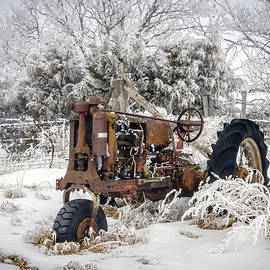 William  Dziuk Photography - Rusted Tractor