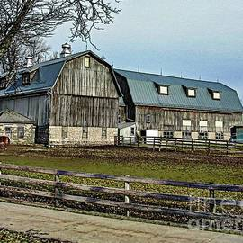 Elizabeth Duggan -  Rustic Barn And Horse Corral in Akron NY