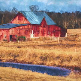 Anna Louise - Rustic Red Barn