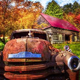 Debra and Dave Vanderlaan - Rusty Chevy
