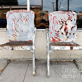 Catherine Sherman - Rusty Lawn Chairs for Sale