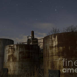 Keith Kapple - Rusty Oil field tanks