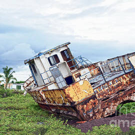 Catherine Sherman - Rusty Retired Fishing Boat